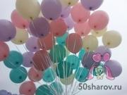Малиновые, розовые и сирень шары